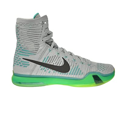buy online 05651 6fd39 Nike Kobe X Elite Men s Shoes Wolf Grey Light Retro-White 718763-041