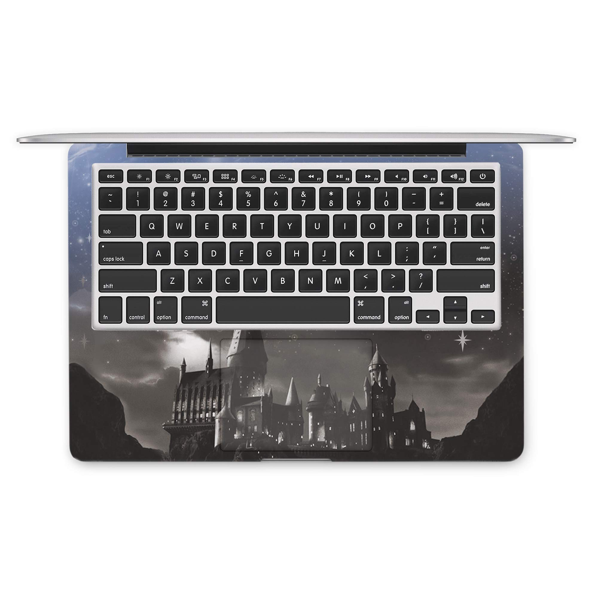 ZizzStore MacBook Hard Case and Keyboard Decal Set Protective Hard Shell with Vinyl Sticker Around Keyboard for (Pro 13 (A1706 & A1708 & A1989) 2018, Harry Potter Always) by ZizzStore (Image #2)