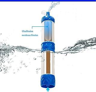 WJW MINI Filtre À Eau, Purificateur D'eau,Bleu Plus Blanc