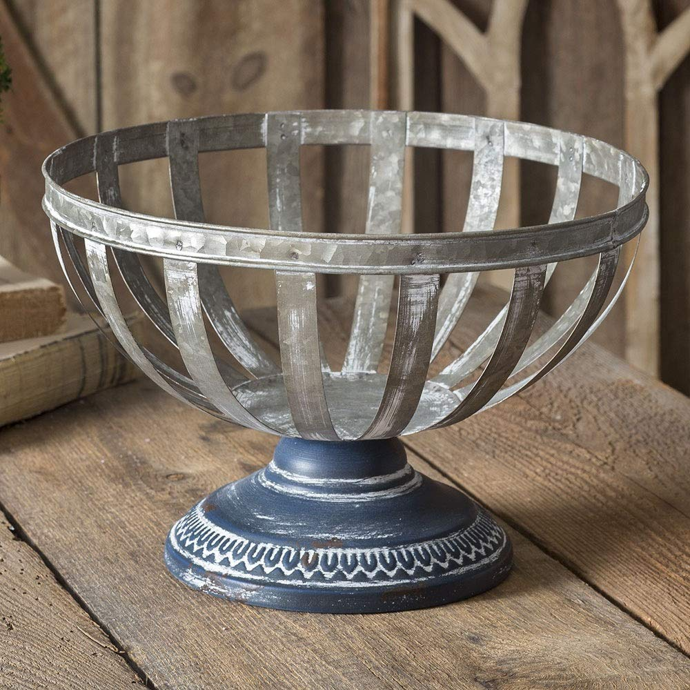 CTW Home Collection Decorative Pedestal Basket by CTW Home Collection (Image #1)