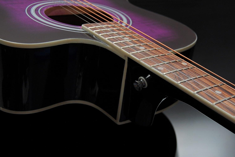 ts-ideen 5300 - Guitarra acústica estilo western de 4/4: Amazon.es: Instrumentos musicales