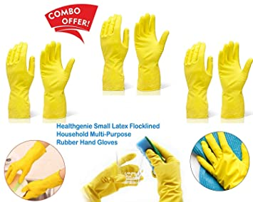new products best authentic first look D CREATIVE Waterproof Cleaning Gloves for Kitchen, Dish ...
