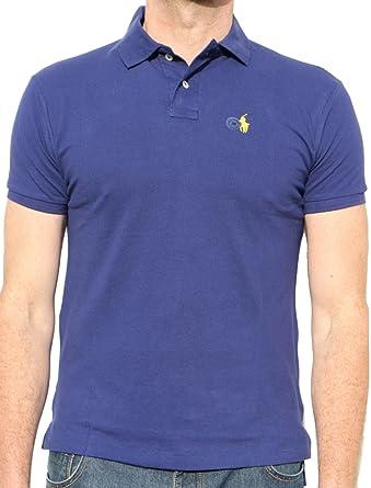 a524a4699 Ralph Lauren Polo Shirt Custom Fit Small Pony Mens Top Bnwt New -100%  Original