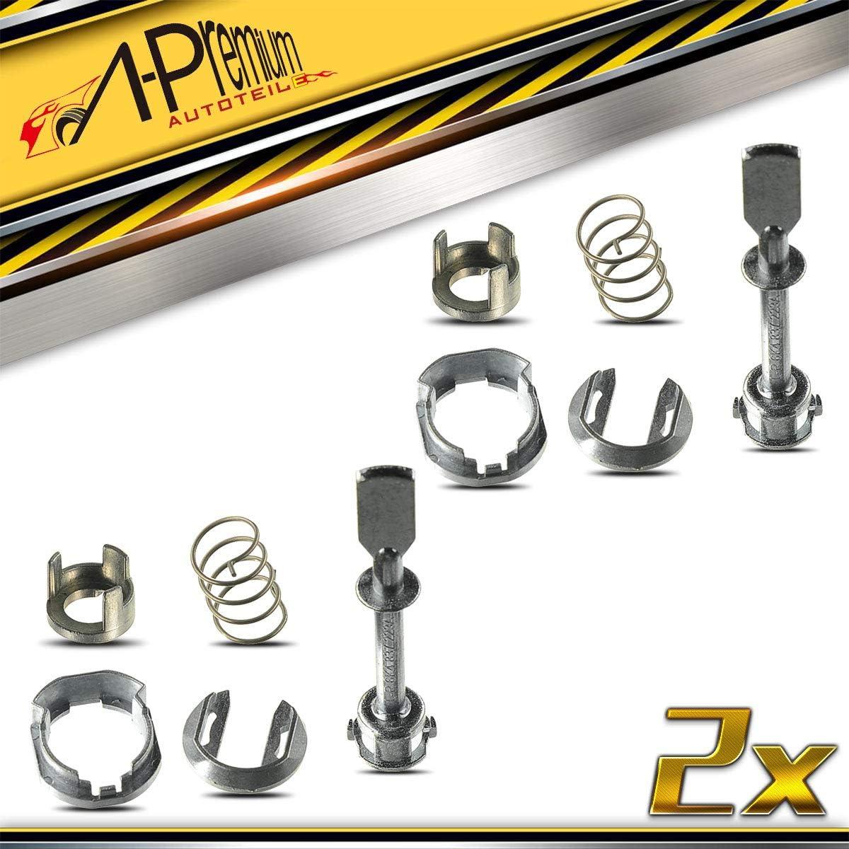 2x Schlie/ßzylinder Reparatursatz f/ür Cordoba 6K2 6K5 Ibiza III 6K1 6K9 Caddy II 9K9A 9K9B 9U7 Polo 6KV2 6KV5 1995-2004 6K4837223A