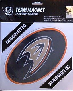 Official National Hockey League Fan Shop Authentic NHL Team Magnet Banner Logo Magnet Measures 12 Diameter Always Broadcast Your Favorite