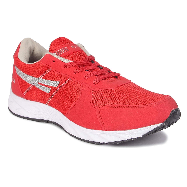 SEGA Men's Mesh Running/Jogging/Gym/Walking/Trekking Indoor and Outdoor Sports Shoes