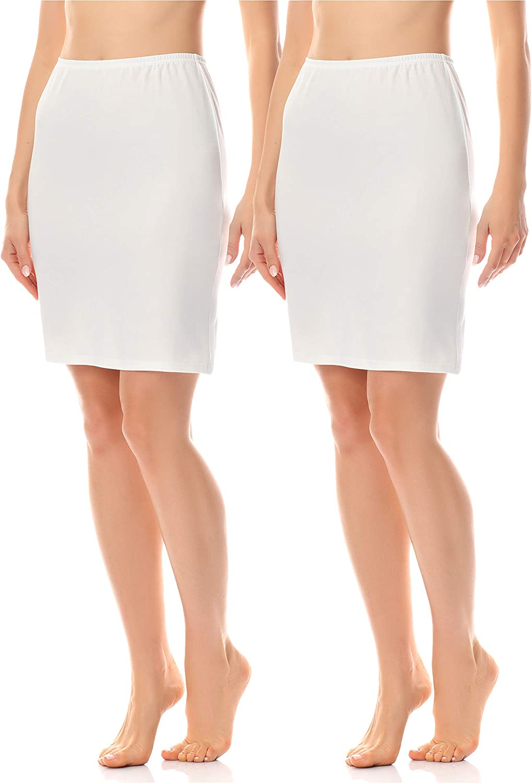 Merry Style Jupon sous Robe Jupe Lingerie Sous-v/êtements Femme MS10-204