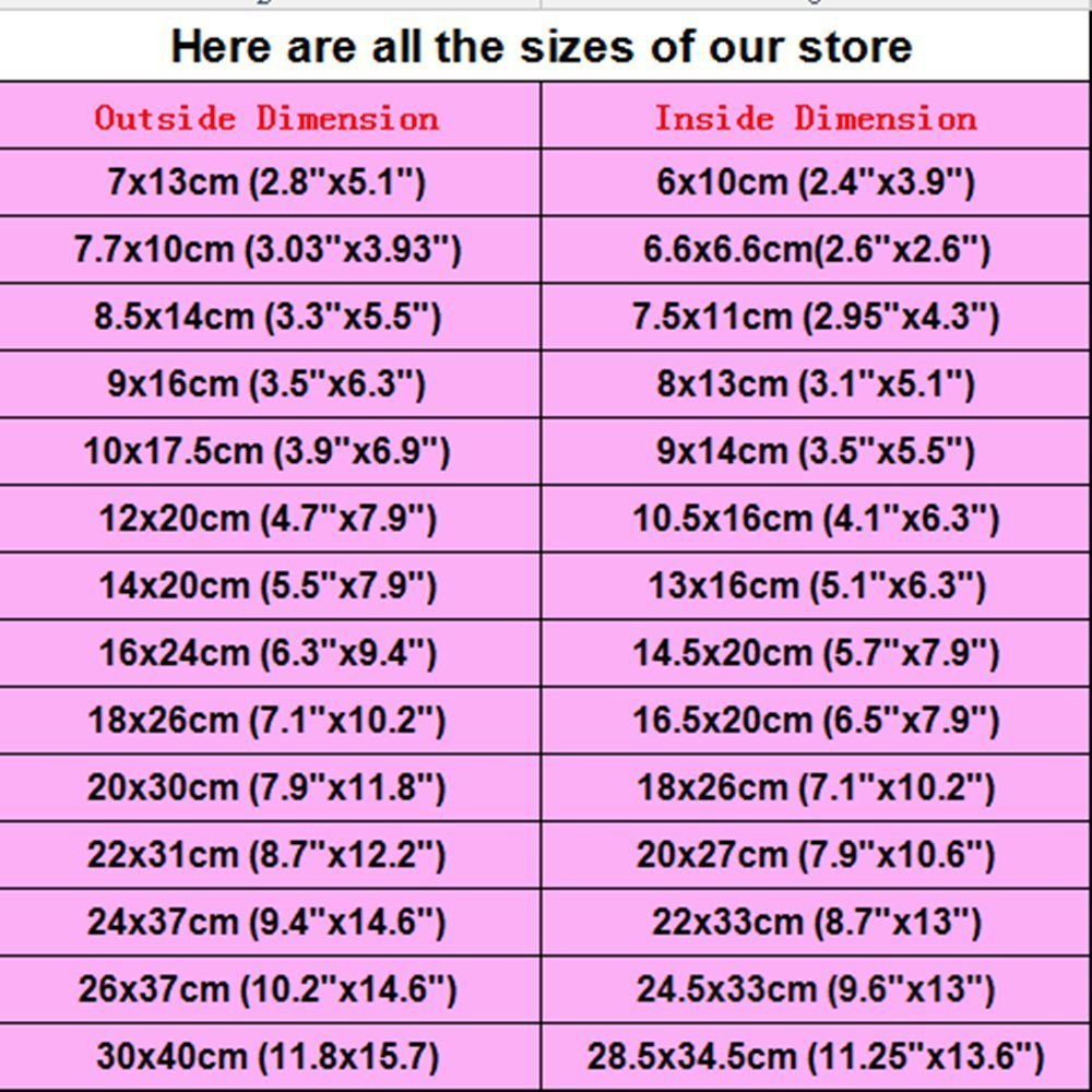 300 Pieces 2.8x5.1 inch Front Clear Reusable Ziplock Mylar Bag Zipper Long Term Food Storage Aluminum Foil Bags Self Press Seal Smell Proof Pouches by PABCK (Image #6)