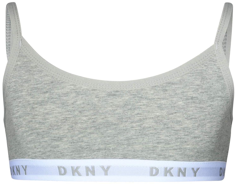 DKNY Girls Cotton//Spandex Training Sport Bra 4 Pack
