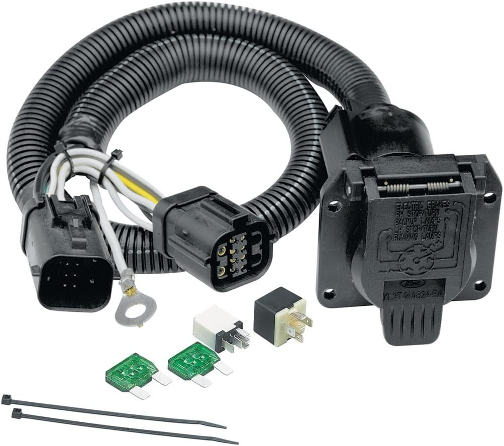 Amazon.com: Tekonsha 118242 7-Way Tow Harness Wiring Package: AutomotiveAmazon.com