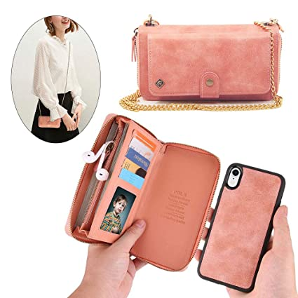 Amazon.com: JAZ - Funda tipo cartera para iPhone Xs/X ...