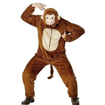 Disfraz de mono traje completo simio carnaval: Amazon.es: Juguetes ...