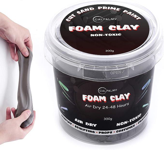 By PixissSoft Air Dry Moldabl Foam Clay Sculpting Foam For Cosplay 300 Gram