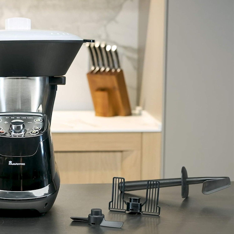 Masterpro Foodies Robot Da Cucina Multifunzione Capacita 1 75 L Selezione Grado A Grado 6 Velocita Programmabile Caraffa Lavabile In Lavastoviglie 1200 W 220 240 V Q3570 Amazon It Casa E Cucina