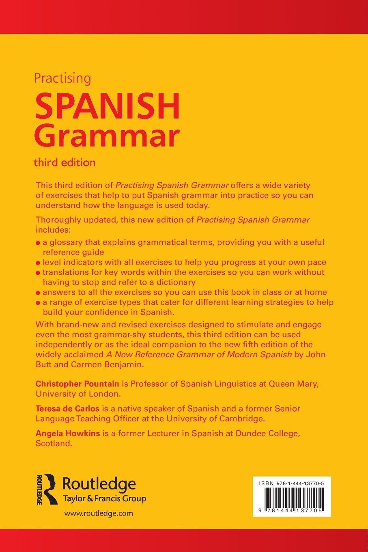 Workbooks spanish language workbooks : Practising Spanish Grammar (Practising Grammar Workbooks): Amazon ...