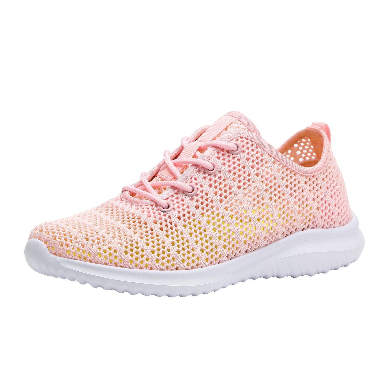 c7604fdaecb Galleon - YILAN Women s Fashion Hollow-Out Sneakers Breathable Sport Shoes  (10 B(M) US