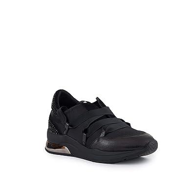 Schwarz Satin Black Damen Liu Nuove Schuhe New 03 Jo Strass Neu Sneakers Karlie 6yYbgvf7