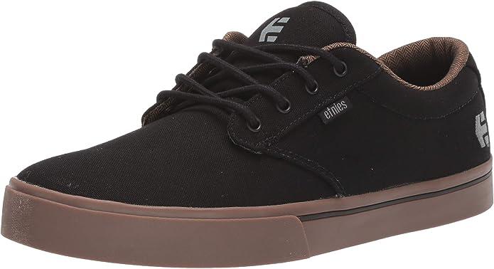 Etnies Jameson 2 Eco Sneakers Skateboardschuhe Charcoal Black (Kohle Schwarz)/Gummi