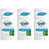 Tom's of Maine Natural Deodorant Maine Woodspice 2.25 Ounce (Pack of 3)