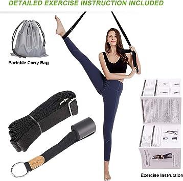 PINK  Leg Stretching Exercise Strap Cheerleader,Dance,Gymnastics,Ballet