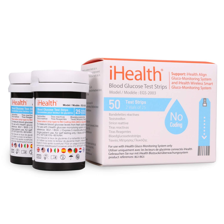 iHealth BG5-50 Caja de 50 pies for BG5: Amazon.es: Salud y cuidado personal