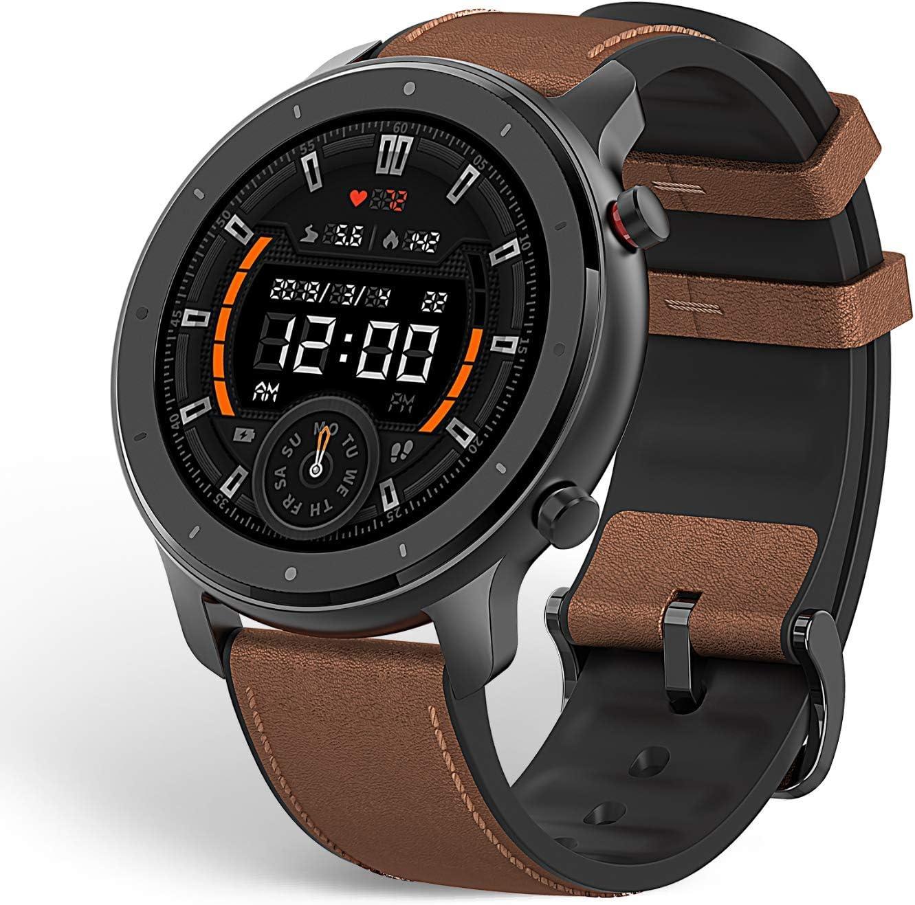Amazfit GTR 47mm Reloj Smartwatch Deportivo | 20 días de batería | AMOLED de 1.39