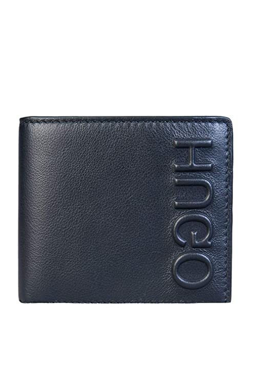 2cad2a1f47d Hugo Boss Men Bifold Wallet BOLSTER-8CC 50397370 Size ONE Size Black:  Amazon.co.uk: Luggage