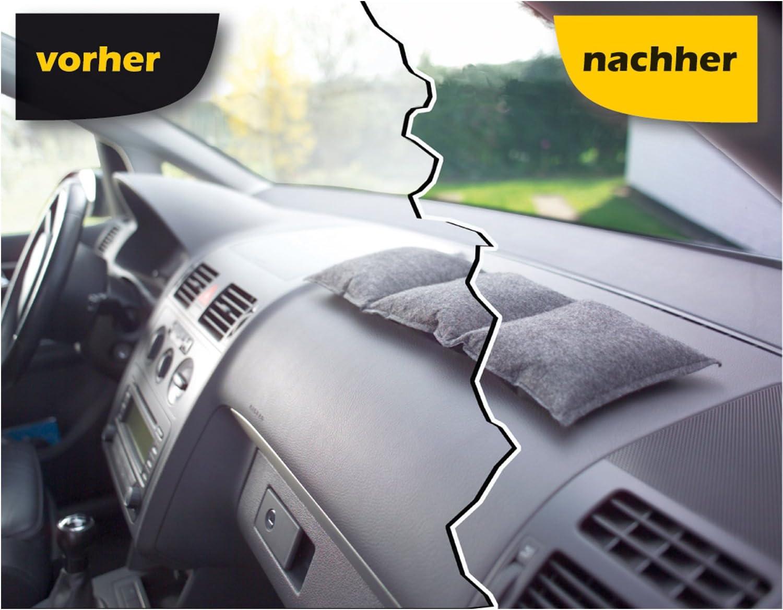 ThoMar Air Dry Auto-Entfeuchter Kissen 80 Prozent mehr als Silica Gel Nimmt bis 600 ml Feuchtigkeit auf Das Original Sch/ützt vor beschlagenen Auto-Scheiben 1kg Luftentfeuchter wiederverwendbar