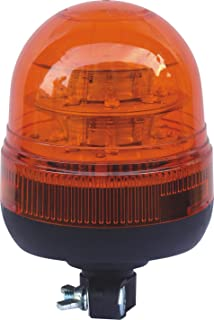 Single Bolt Fixing Recovery Light Beacon Flashing Amber Rotating 12 /& 24 V Dual