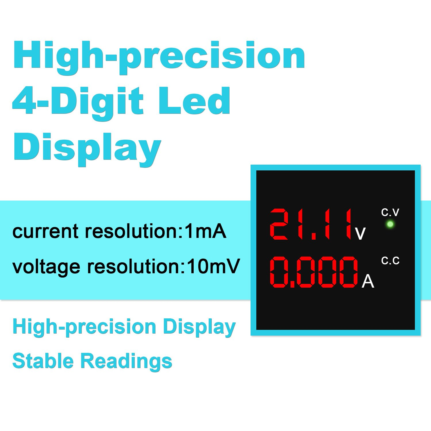 Dc Power Supply Variable 30v 10a 4 Digit Led Display Upgraded 0 30v0 2a Adjustable Voltage And Current Regulator Version Precision Bench Regulated With 2