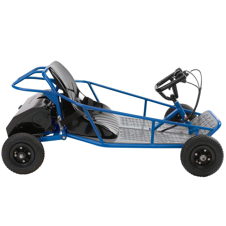 Razor 25143540 Kids Youth Single Rider Electric Car Go Kart Steering System Diagram Engine Get Free Image Dune Buggy Blue Toys Games