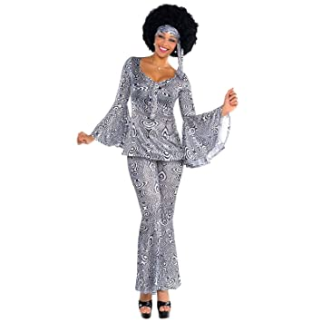 Uk 14 16 Ladies 60 70 Dancing Queen Costume Disco