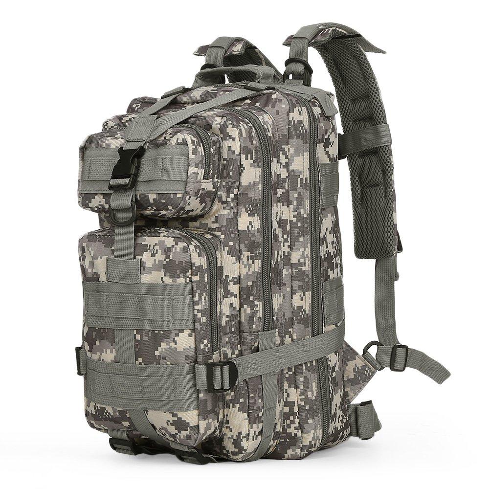ミリタリーバックパック30lメンズ用スポーツバックパックキャンプ登山旅行バッグ  Multi-colors B07DFGC31J