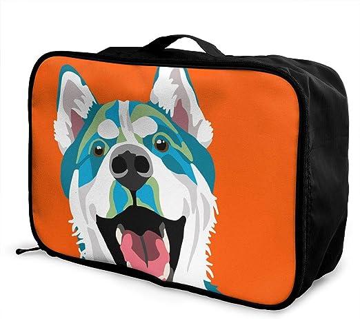 YueLJB Funny Donkey Lightweight Large Capacity Portable Luggage Bag Travel Duffel Bag Storage Carry Luggage Duffle Tote Bag