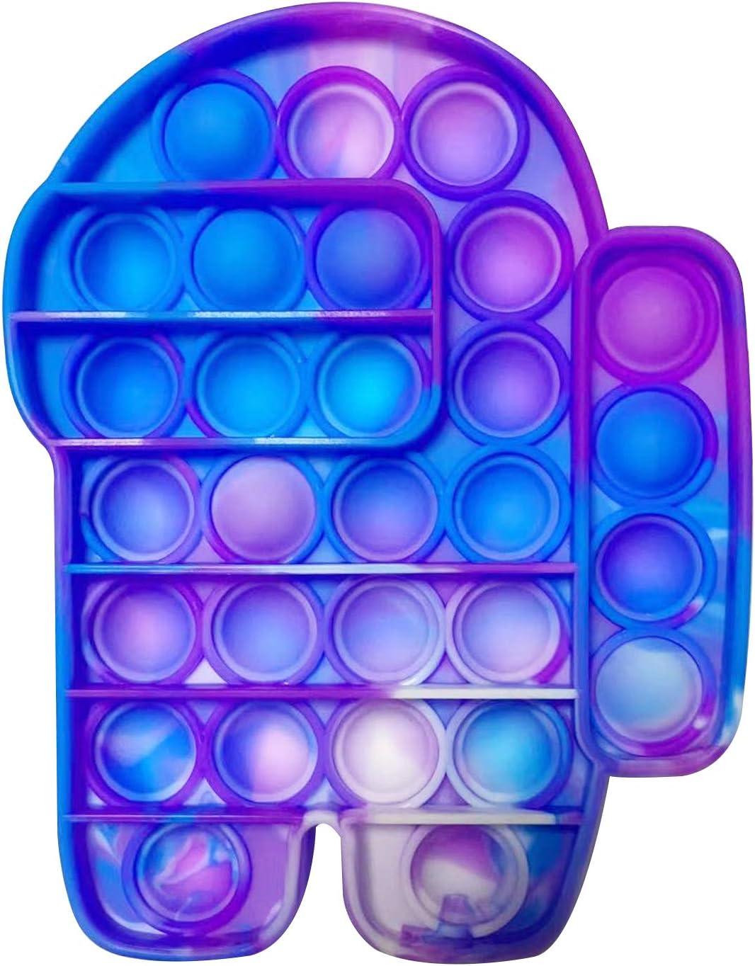 Pincez Sensorielle Jouet Push Pop Pop Bubble Sensory Fidget Toy Pousser Bubble Fidget Jouet Sensoriel Autisme Anti-stress De Silicone En Forme De Coeur Anti Anxi/ét/é Jouets Pour Enfants Adultes