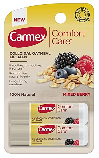 Amazon.com: Carmex Confort Cuidado bálsamo de labios – con ...