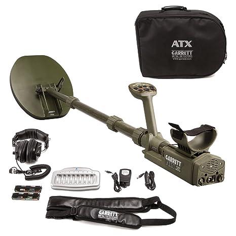 """Garrett detector de metales ATX pulso inducción con 11 x 13 """"mono cerrado searchcoil"""