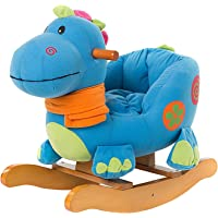 TRYSHA – Baby Rocking Horse for 1-3 Year Old, Wooden Toddler Rocker, Kid Rocking Toy, Infant Rocking Animal,Outdoor…