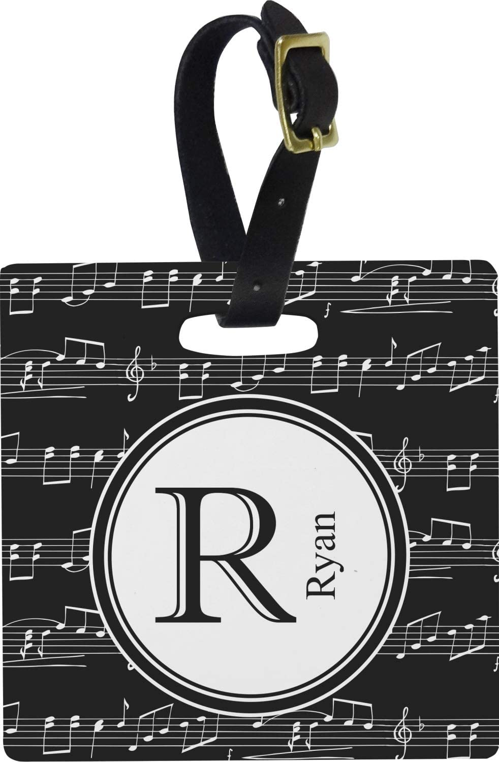 Luggage Suitcase Baggage Tag Music Collection 2