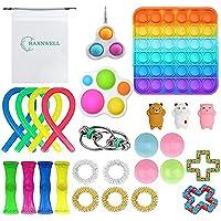 RaxnWell 25Pcs Fidget Toy Set, Cheap Sensory Fidget Toys Pack Figetget Toys Pack Figit Toys Pink