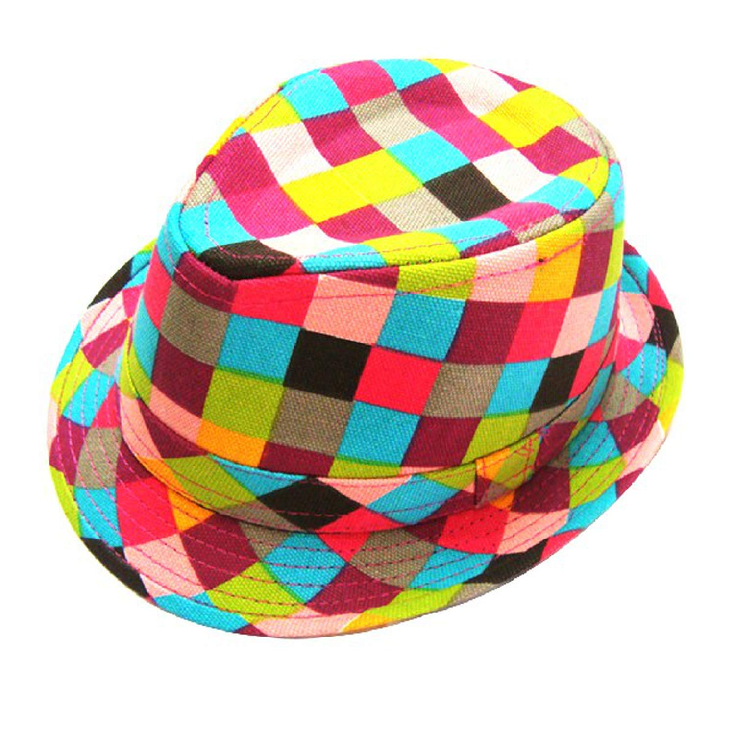Classic Style Fashion Jazz Kids Baby Boy Girl Cap Cool Photography Fedora Hat for Children