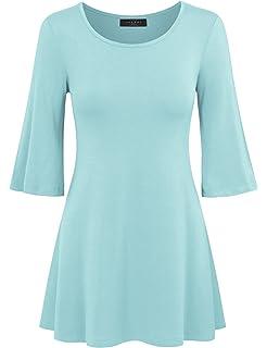 fc1549918d Tops   Plus Women s Plus Size Safari Shimmer Tunic - SAND at Amazon ...
