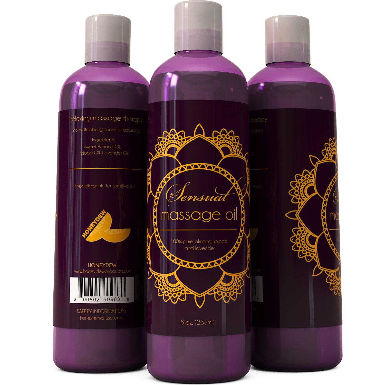 Sensual Massage Oil w/ Pure Lavender Oil