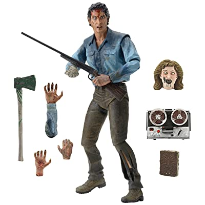 "NECA Evil Dead 2 - Scale Action Figure, Ultimate Ash, 7"": Toys & Games"
