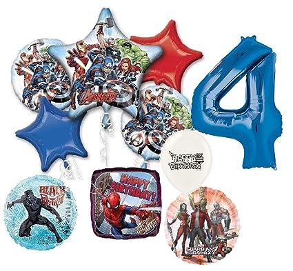 Amazon.com: Azul número 4 infinity Guerra de superhéroes Los ...