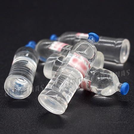 5pcs 1:12 scale miniature dollhouse drink bottle mini food play kid kitchen toJB