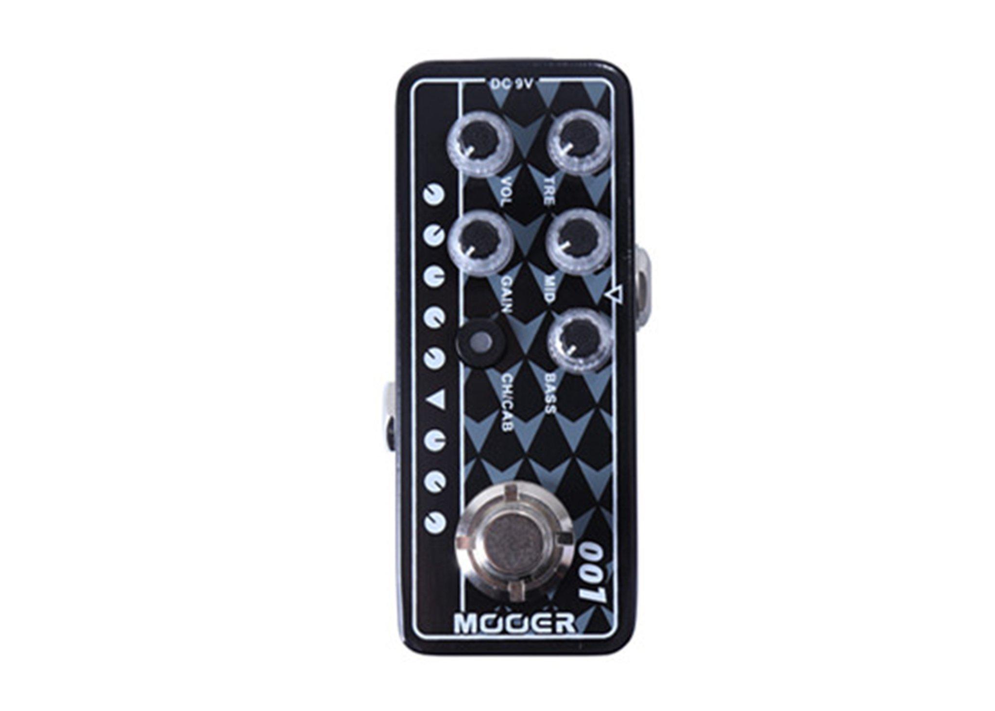 Mooer Micro Preamp 001 Gas Station w/Bonus RIS Pick (x1) 6943206792109