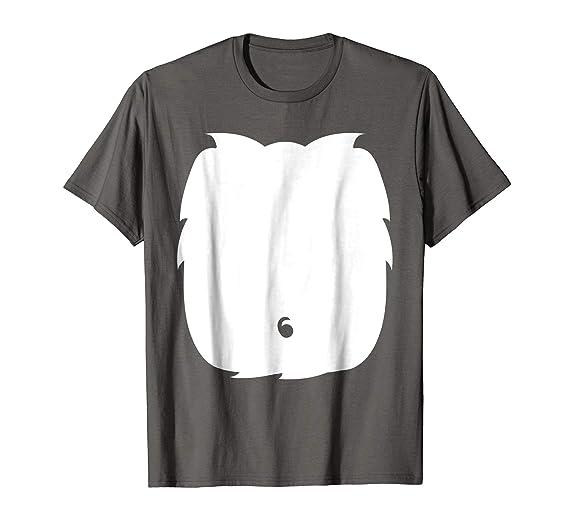 Mens Skunk Cat Panda Halloween Costume Tshirt Cute Kid Adult Gift 2xl Asphalt