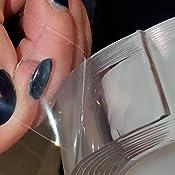 Amazon.com: Nanotape - Cinta de silicona reutilizable ...
