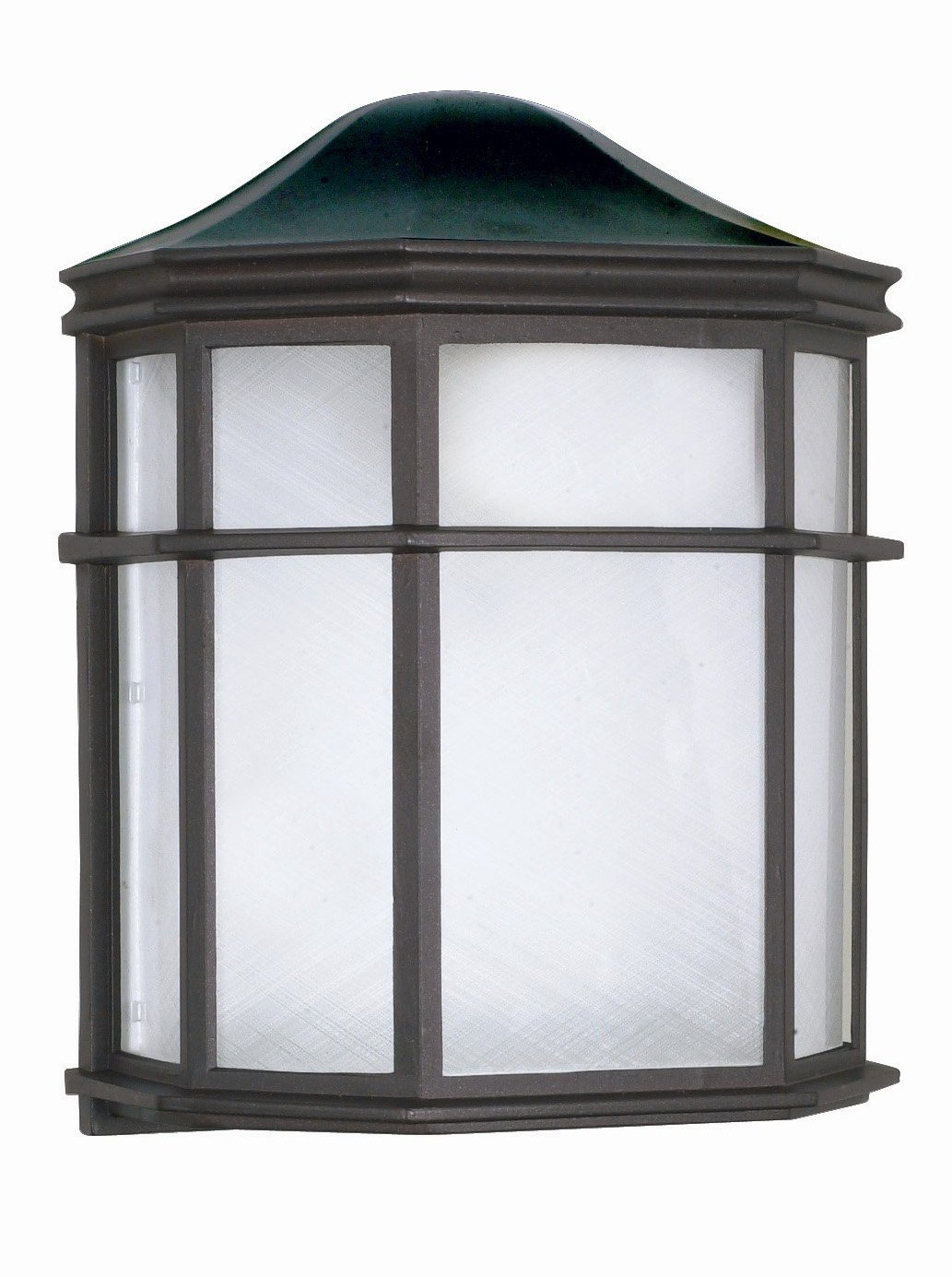 amazon com nuvo lighting 60 538 one light wall lantern home